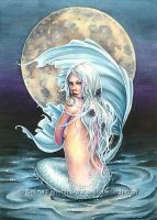 Moon Mermaid by SelinaFenech