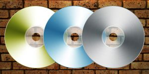 CD stock three colour by RecreateStock