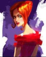 Red hair by Zzanthia