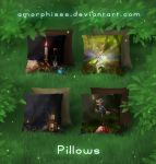 Pillows 2 by amorphisss