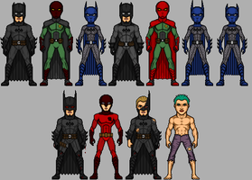War of the Bat Complete Set by UndefinedScott