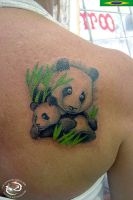 Panda by DallierTattoo