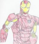 Iron Man First Layer Color by thebingbang