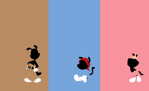 Animaniacs - Silhouettes of the Warners by Myrling