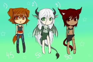 Point Adoptables (CLOSED) by Hasanti