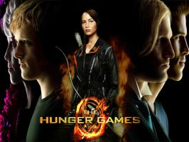 The Hunger Games poster by Sian93