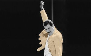 Freddie Mercury Wallpaper by Mini-V