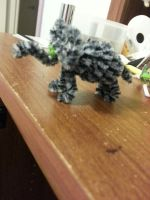 Pipe Cleaner Elephant by jelc85