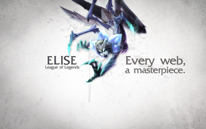 League of Legends Wallpaper - Elise by deSess