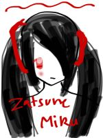 Zatsune Miku by Balloons-In-The-Sky