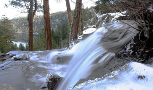 Tahoe-Emerald Bay Waterfall 1 by The-Assistant