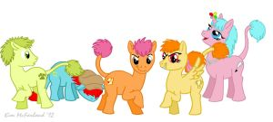 My Little Fraggle Five by Negaduck9