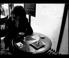 le cafe. by moumine