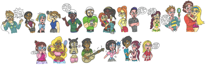 Request - Total Drama Fusion by Abrigedfoamy