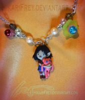 Marcy- Adventure time necklace by HikariFrey