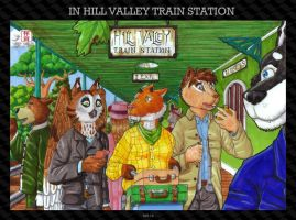 In Hill Valley Train Station by HweiChow