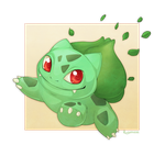 No. 1 Bulbasaur by Plaguedog