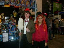 Amy Pond and the Eleventh Doc. by ray-dnt