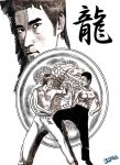 Bruce Lee: the Dragon by PCHILL