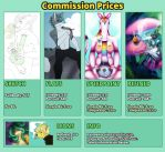 Commission Info/Prices by shesta713
