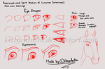 Eyes-Brow Tutorial *Spirit style* by KittycatNita