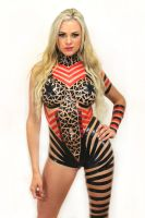 Black Red Tape Blonde by bobbylevy