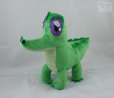 MLP FiM: Gummy Plushie by LiLMoon