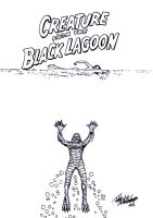 Creature from the Black Lagoon by teddy09