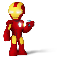 Tiny Ironman by Indybreeze