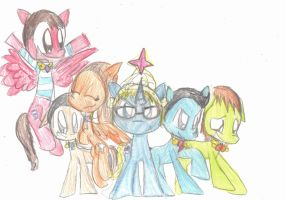 Lets Playing: Elements of Harmony (Pony Ver.) by EeveelutionLova