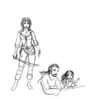 Sybil sketches by Captain-Savvy