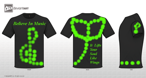 Music Shirt Challenge Entry by MusicTechGirl1