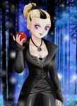Danielle as Regina, the Evil Queen (OUAT) by diabolikal-lily