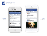 Facebook 2013 App Redesign by osullivanluke