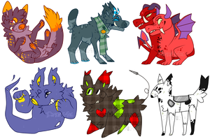 2spoopy Adopts 2 {Paypal only} All gone by LoserDoge