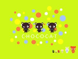 Chococat and Friends by pinniped