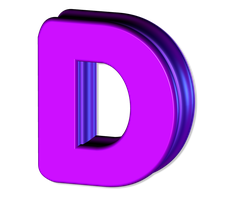 D 3D by billypic