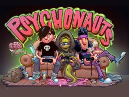 Pyschonauts: Trip to the Multiverse! by plaidklaus