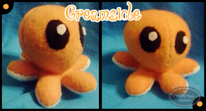 Little Litters- Creamsicle Plush by Sparkle-And-Sunshine