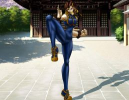 Interpol Agent Chun Li by odeloth