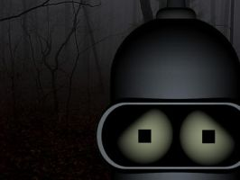 Bender-Blair Witch Crossover by JLMacDonald