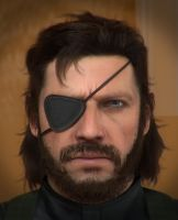 MGS5 Snake  - WIP - by AnubisDHL