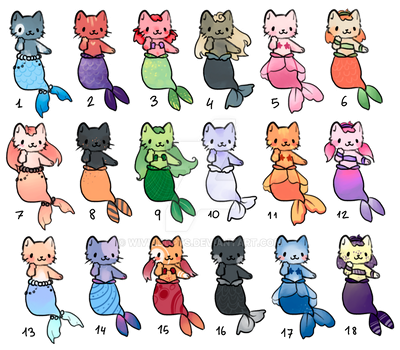 [CLOSED] 80 points Mercats Adopt! by WiviAdopts