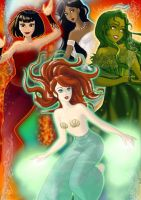 Four Elements Disney Style by Sunshine-Girl524