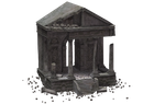 Building - Temple Of Megaera Ruins 04 by Free-Stock-By-Wayne