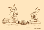 Nick and Judy by chacckco