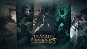 LEAGUE OF LEGENDS WALLPAPER HD by MCGraphic