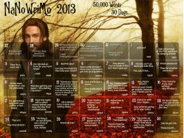 NaNoWriMo 2013 Wallpaper by Polgara87
