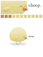 cheep. by wildgica