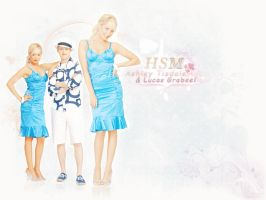 Wallpaper Ashley Tisdale by andzia89